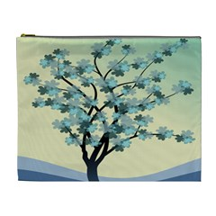 Branches Field Flora Forest Fruits Cosmetic Bag (xl)