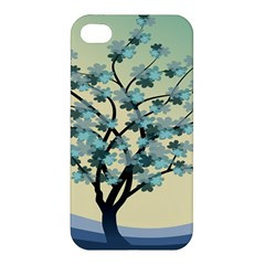 Branches Field Flora Forest Fruits Apple Iphone 4/4s Premium Hardshell Case by Nexatart