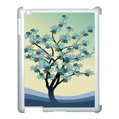 Branches Field Flora Forest Fruits Apple Ipad 3/4 Case (white) by Nexatart