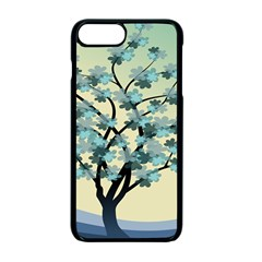 Branches Field Flora Forest Fruits Apple Iphone 7 Plus Seamless Case (black) by Nexatart