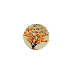 Branches Field Flora Forest Fruits 1  Mini Buttons by Nexatart