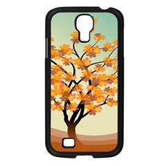 Branches Field Flora Forest Fruits Samsung Galaxy S4 I9500/ I9505 Case (black)