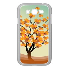 Branches Field Flora Forest Fruits Samsung Galaxy Grand Duos I9082 Case (white)