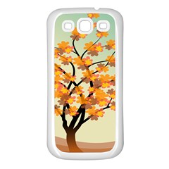 Branches Field Flora Forest Fruits Samsung Galaxy S3 Back Case (white) by Nexatart
