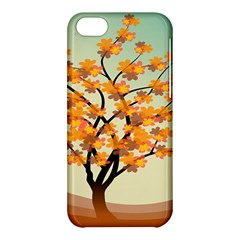 Branches Field Flora Forest Fruits Apple Iphone 5c Hardshell Case by Nexatart