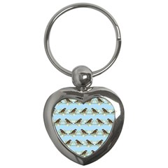Sparrows Key Chains (heart)  by SuperPatterns
