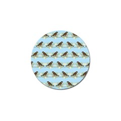 Sparrows Golf Ball Marker (4 Pack) by SuperPatterns