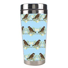 Sparrows Stainless Steel Travel Tumblers by SuperPatterns