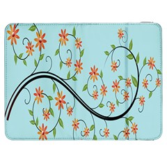 Branch Floral Flourish Flower Samsung Galaxy Tab 7  P1000 Flip Case