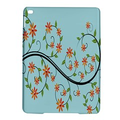 Branch Floral Flourish Flower Ipad Air 2 Hardshell Cases by Nexatart