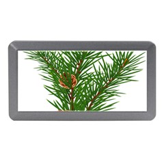 Branch Floral Green Nature Pine Memory Card Reader (mini) by Nexatart