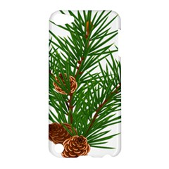 Branch Floral Green Nature Pine Apple Ipod Touch 5 Hardshell Case by Nexatart