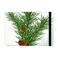 Branch Floral Green Nature Pine Apple Ipad Mini Flip Case by Nexatart