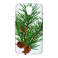 Branch Floral Green Nature Pine Galaxy S4 Active by Nexatart