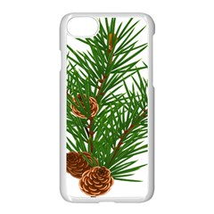 Branch Floral Green Nature Pine Apple Iphone 7 Seamless Case (white)