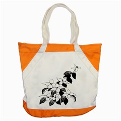 Ecological Floral Flowers Leaf Accent Tote Bag by Nexatart