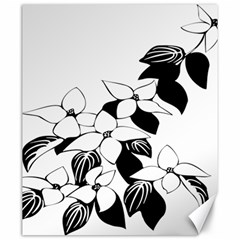 Ecological Floral Flowers Leaf Canvas 20  X 24   by Nexatart