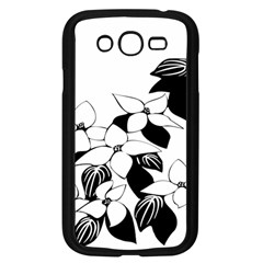 Ecological Floral Flowers Leaf Samsung Galaxy Grand Duos I9082 Case (black)