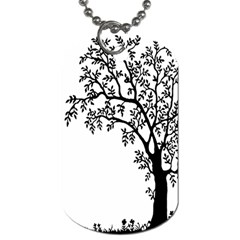 Flowers Landscape Nature Plant Dog Tag (two Sides)