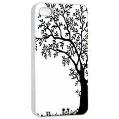Flowers Landscape Nature Plant Apple Iphone 4/4s Seamless Case (white)