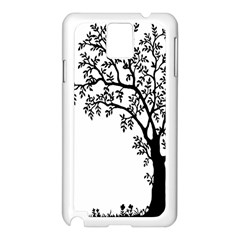 Flowers Landscape Nature Plant Samsung Galaxy Note 3 N9005 Case (white)