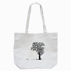 Flowers Landscape Nature Plant Tote Bag (white) by Nexatart