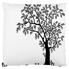 Flowers Landscape Nature Plant Large Flano Cushion Case (two Sides)