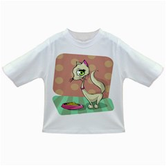 Cat Food Eating Breakfast Gourmet Infant/Toddler T-Shirts