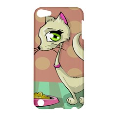 Cat Food Eating Breakfast Gourmet Apple iPod Touch 5 Hardshell Case