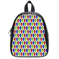 Colorful Shiny Eat Edible Food School Bags (small)  by Nexatart