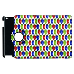 Colorful Shiny Eat Edible Food Apple Ipad 2 Flip 360 Case by Nexatart