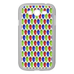 Colorful Shiny Eat Edible Food Samsung Galaxy Grand Duos I9082 Case (white) by Nexatart