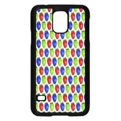 Colorful Shiny Eat Edible Food Samsung Galaxy S5 Case (black) by Nexatart