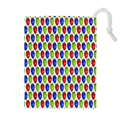 Colorful Shiny Eat Edible Food Drawstring Pouches (extra Large)