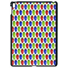Colorful Shiny Eat Edible Food Apple Ipad Pro 9 7   Black Seamless Case