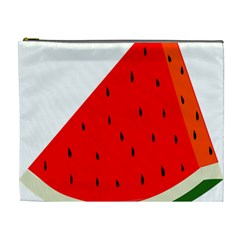 Fruit Harvest Slice Summer Cosmetic Bag (xl) by Nexatart