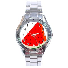 Fruit Harvest Slice Summer Stainless Steel Analogue Watch