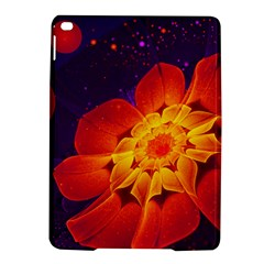 Royal Blue, Red, And Yellow Fractal Gerbera Daisy Ipad Air 2 Hardshell Cases by jayaprime