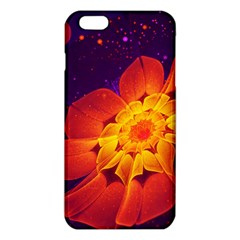 Royal Blue, Red, And Yellow Fractal Gerbera Daisy Iphone 6 Plus/6s Plus Tpu Case by jayaprime