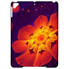 Royal Blue, Red, And Yellow Fractal Gerbera Daisy Apple Ipad Pro 9 7   Hardshell Case by jayaprime