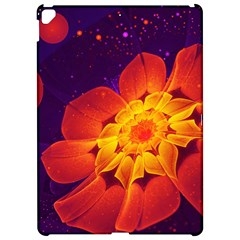 Royal Blue, Red, And Yellow Fractal Gerbera Daisy Apple Ipad Pro 12 9   Hardshell Case by jayaprime