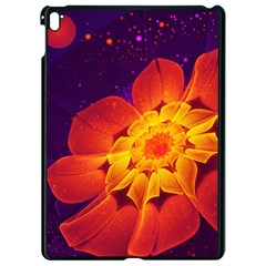 Royal Blue, Red, And Yellow Fractal Gerbera Daisy Apple Ipad Pro 9 7   Black Seamless Case by jayaprime