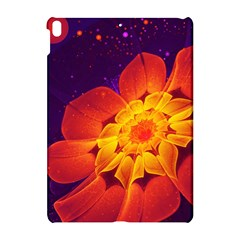 Royal Blue, Red, And Yellow Fractal Gerbera Daisy Apple Ipad Pro 10 5   Hardshell Case by jayaprime