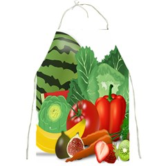 Fruits Vegetables Artichoke Banana Full Print Aprons