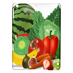 Fruits Vegetables Artichoke Banana Ipad Air Hardshell Cases by Nexatart
