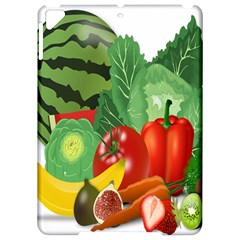 Fruits Vegetables Artichoke Banana Apple Ipad Pro 9 7   Hardshell Case by Nexatart