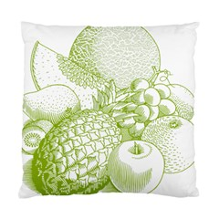 Fruits Vintage Food Healthy Retro Standard Cushion Case (two Sides) by Nexatart
