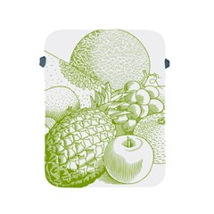 Fruits Vintage Food Healthy Retro Apple Ipad 2/3/4 Protective Soft Cases by Nexatart