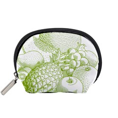 Fruits Vintage Food Healthy Retro Accessory Pouches (small)