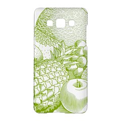 Fruits Vintage Food Healthy Retro Samsung Galaxy A5 Hardshell Case  by Nexatart